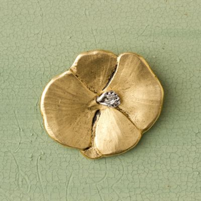 Pansy Pin, Medium