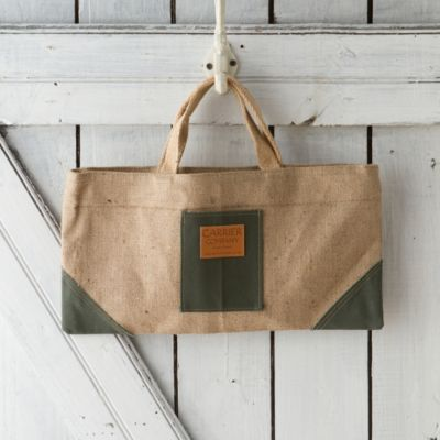 Canvas & Jute Garden Bag