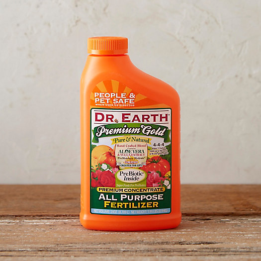 Dr. Earth Premium Gold All-Purpose Liquid Fertilizer Concentrate
