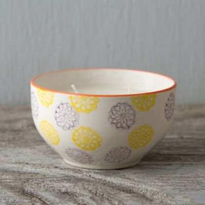 Fig & Violet Bowl Candle