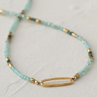 Seafoam Link Necklace