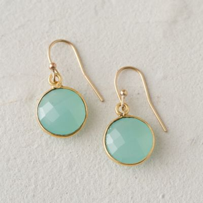Seafoam Sphere Earrings