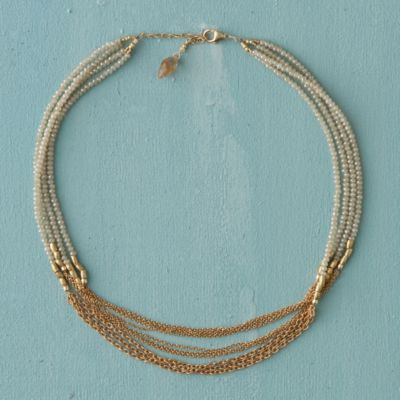 Champagne Multi-Strand Necklace