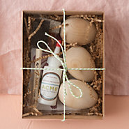 Wooden Egg Decorating Kit