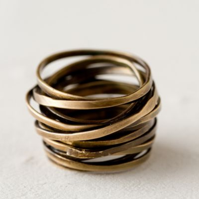 Brass Layers Ring