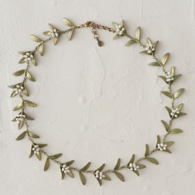 Flowering Myrtle Necklace