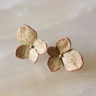Hydrangea Petals Earrings