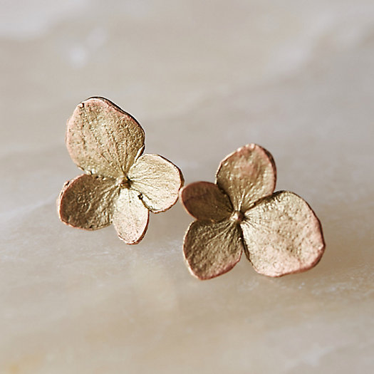 Hydrangea Petal Earrings