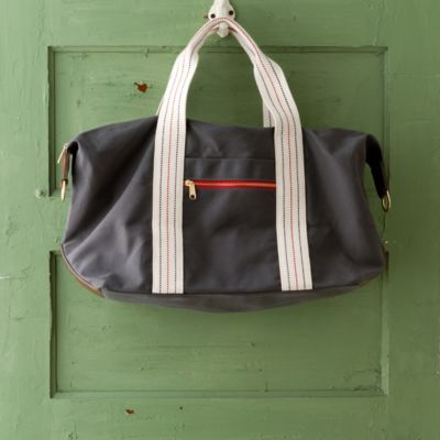 Canvas & Leather Weekender