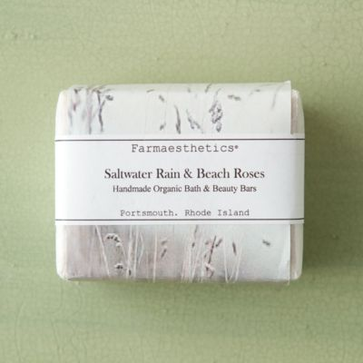 Farmaesthetics Saltwater Rain & Beach Roses Soap Set