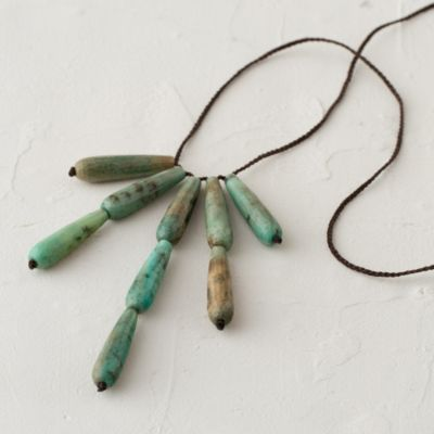 Chrysoprase Fall Necklace