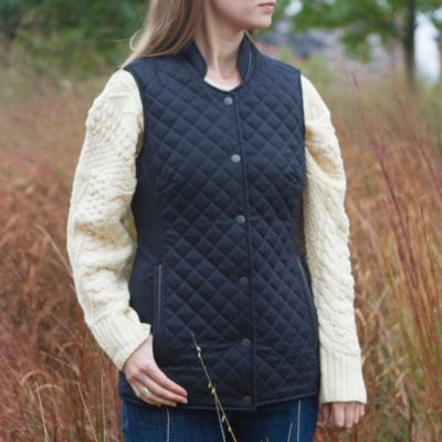 Dubarry Quilted Vest, Women's