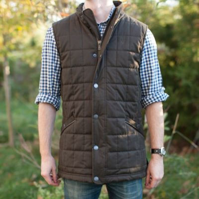 Dubarry Quilted Vest, Men's