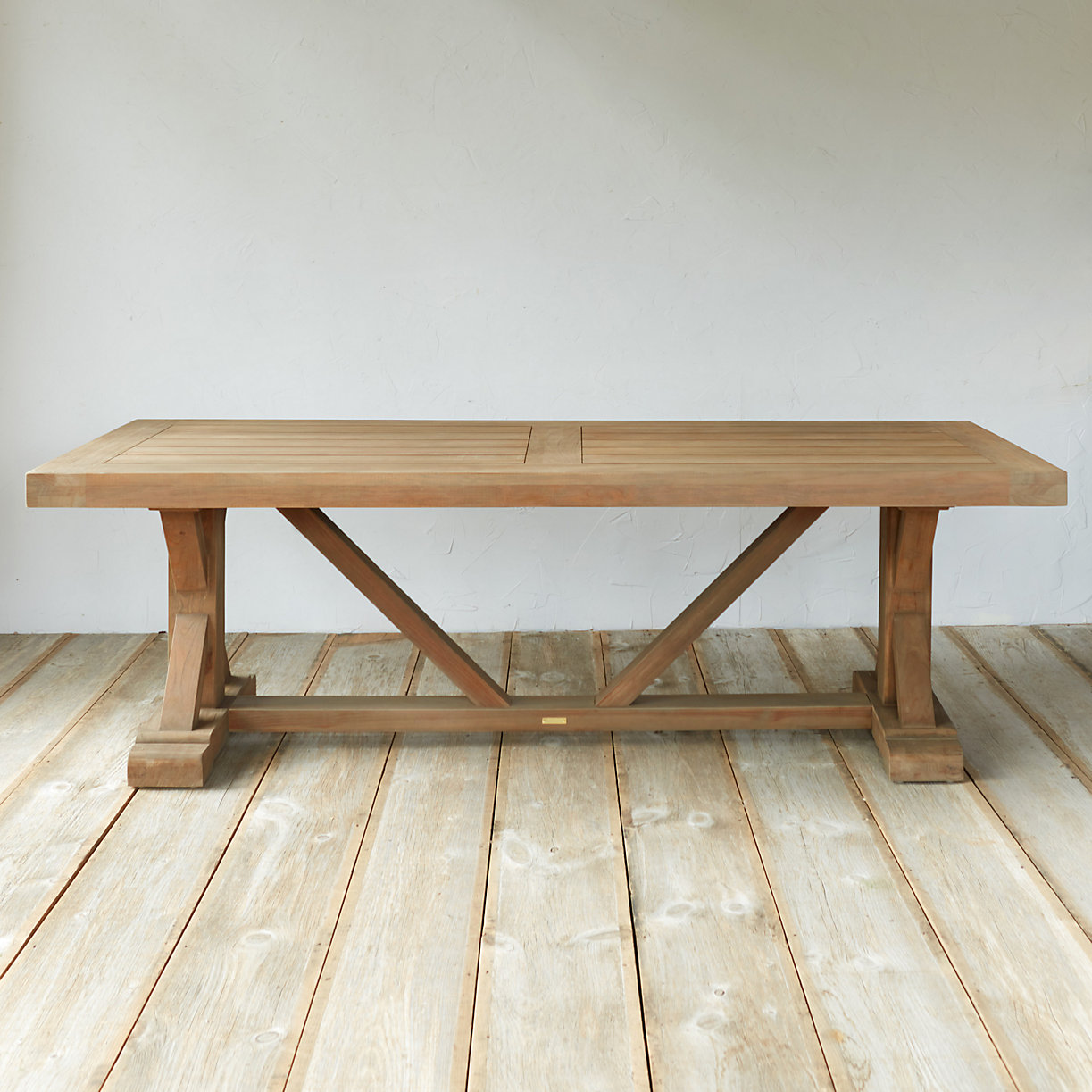 Protected Teak Trestle Dining Table 8 Terrain : 32366783014azoom2 from www.shopterrain.com size 1223 x 1223 jpeg 218kB