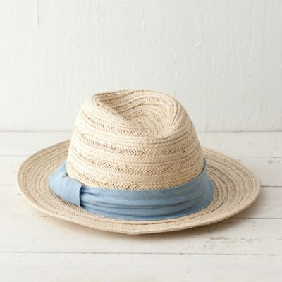 Chambray Band Fedora
