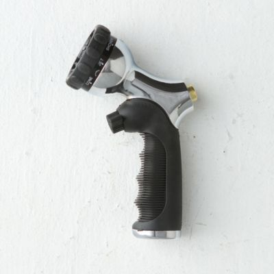 Push Button Chrome Nozzle