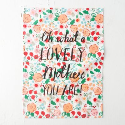 Lovely Mother Tea Towel