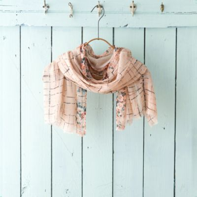 Silk Lattice Scarf
