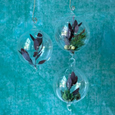 Fillable Ornament Trio