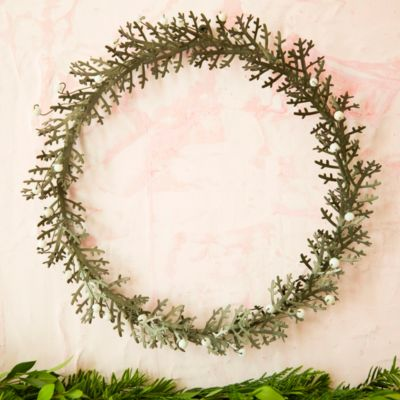 Juniper Metal Wreath
