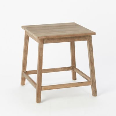 Preserved Teak Plant Stand, Low