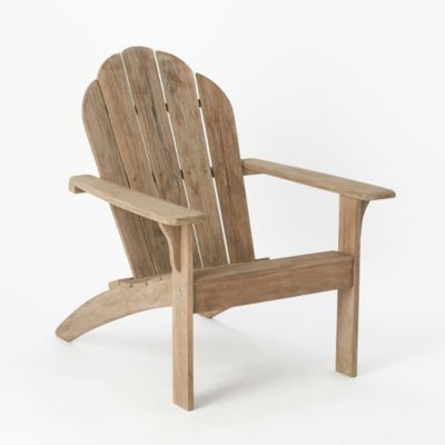 Preserved Teak Adirondack Chair