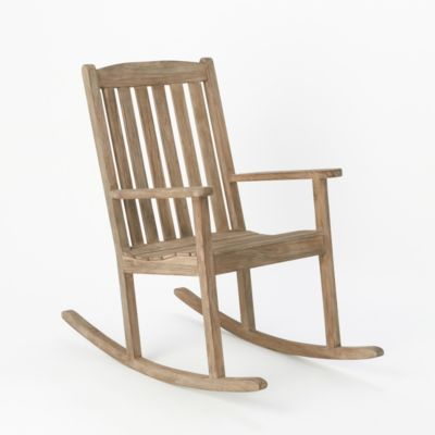 Preserved Teak Rocking Chair