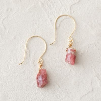Tourmaline Nugget Earrings
