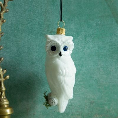 White Owl Ornament