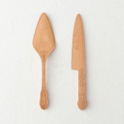 Beech Cake Serving Set