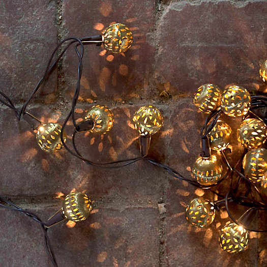 Brass Pin Dot Lights