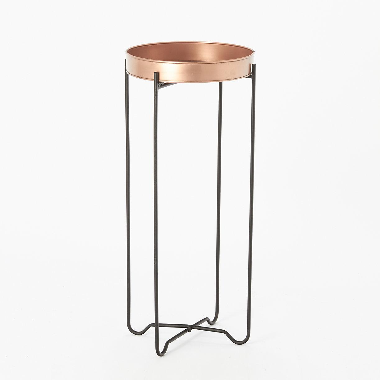 Copper Tray Table Tall Terrain