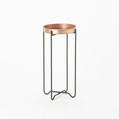 Copper Tray Table, Low