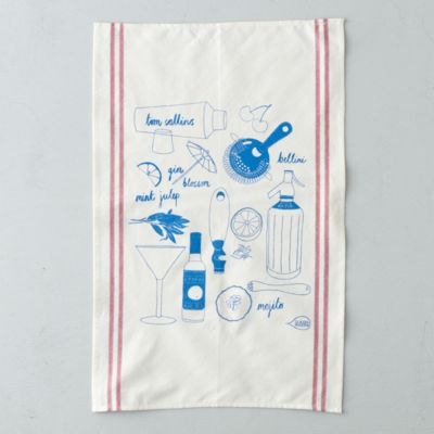 Cocktail Party Tea Towel