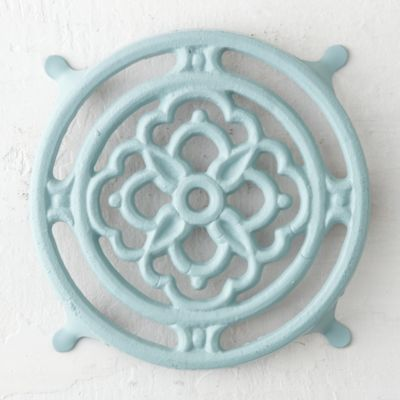 Iron Bloom Trivet
