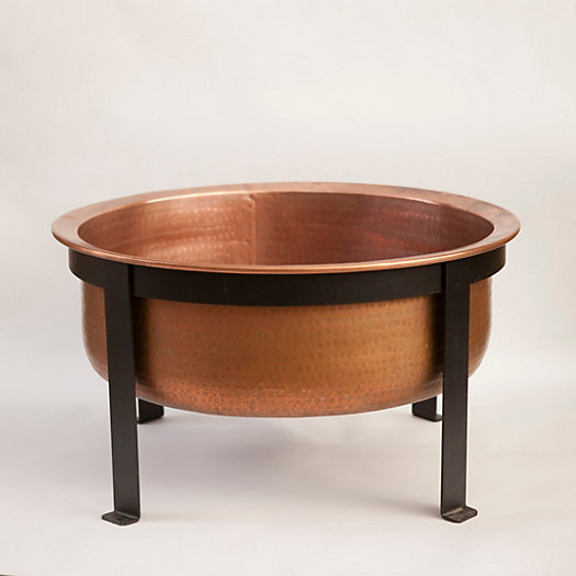 Copper Table Fire Pit