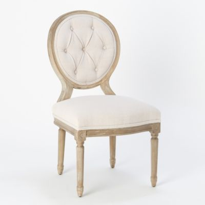 Tufted Back Dining Chair