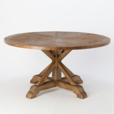Starburst Pine Dining Table
