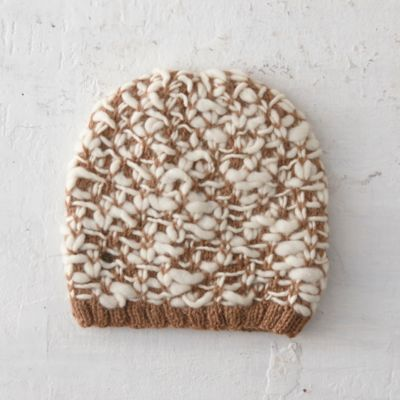 Textured Alpaca Hat