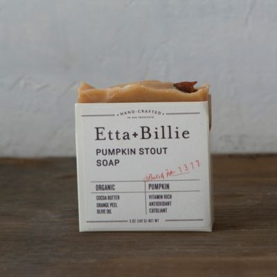 Etta & Billie Pumpkin Stout Soap