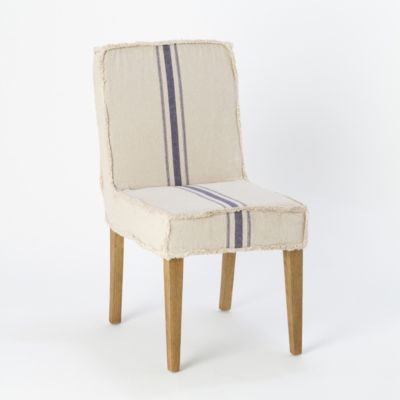 Vertical Stripe Dining Chair