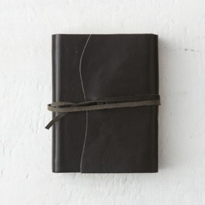 Hand-Stitched Leather Journal