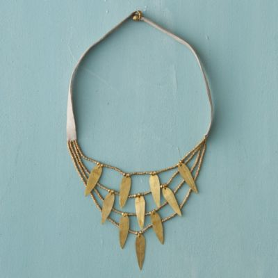Drifting Leaves Necklace