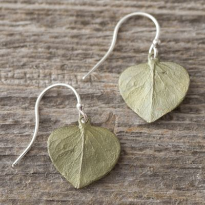 Eucalyptus Drop Earrings