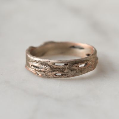 Birch Bark Ring, Narrow