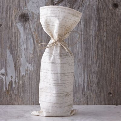 Birch Cotton Wine Bag