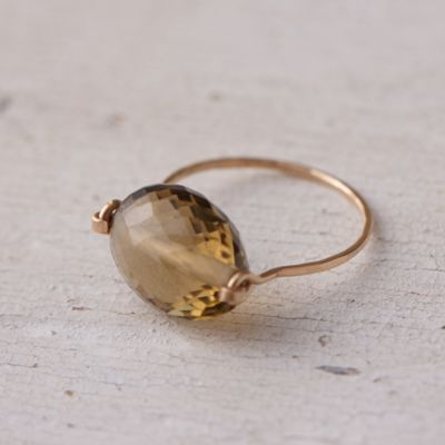Gem & Gold Ring