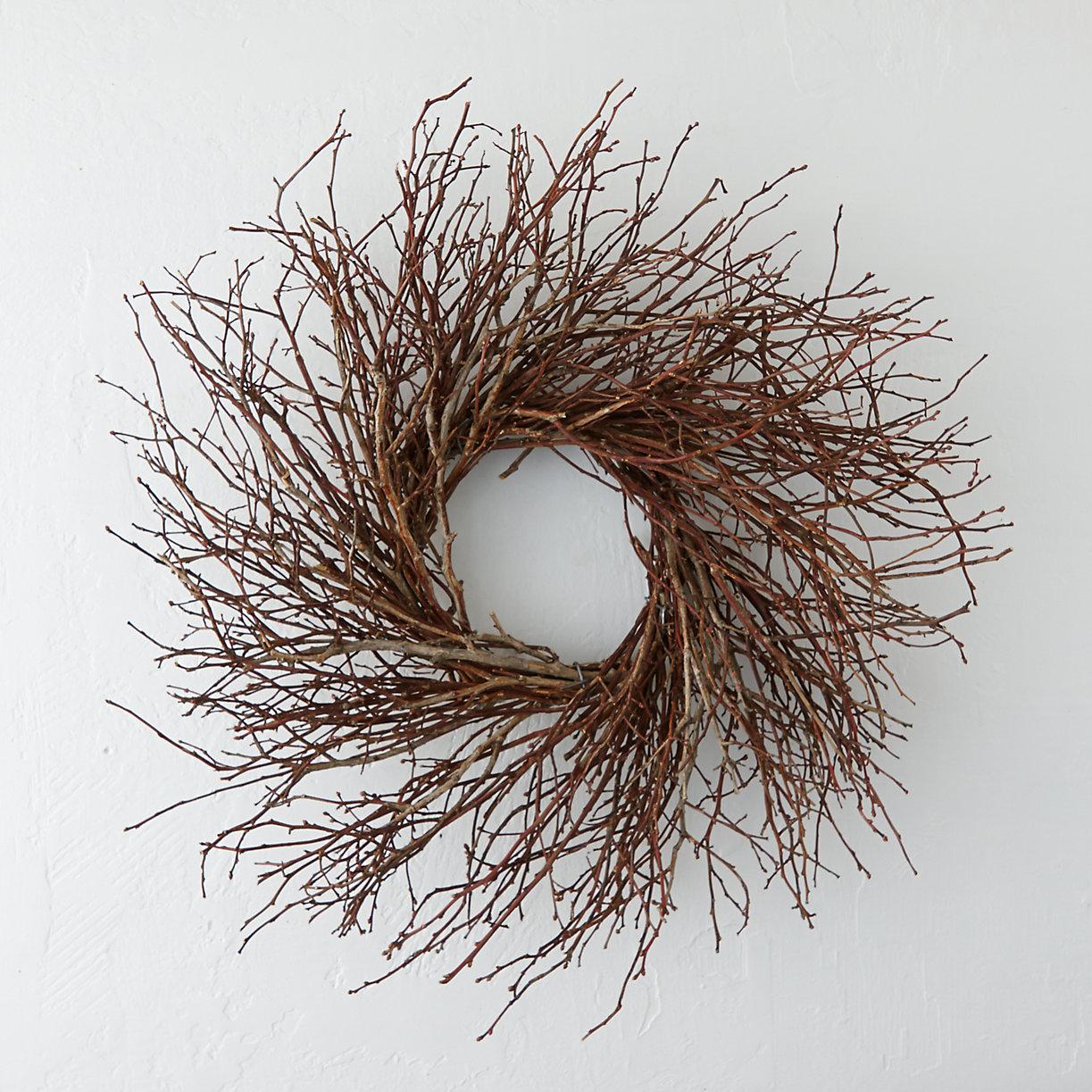 Wild Blueberry Twig Wreath Terrain