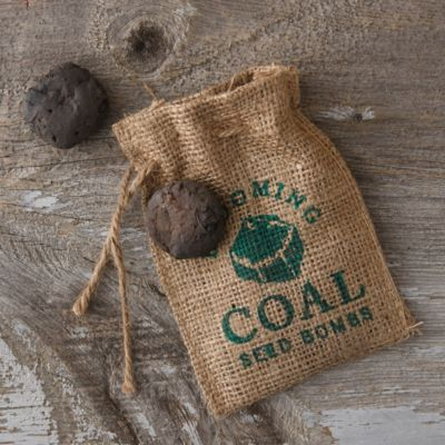 Blooming Coal Seed Bombs