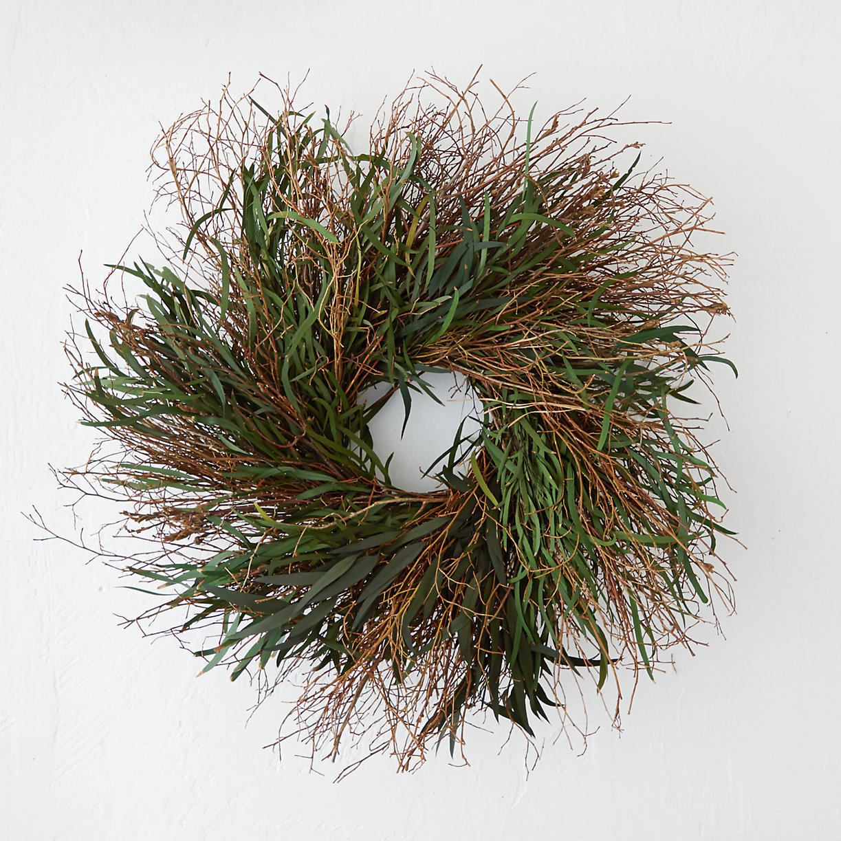 willow amp eucalyptus wreath terrain